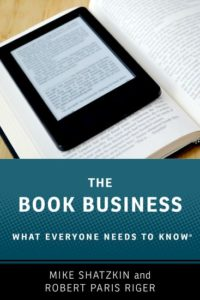 A changing book business: it all seems to be flowing